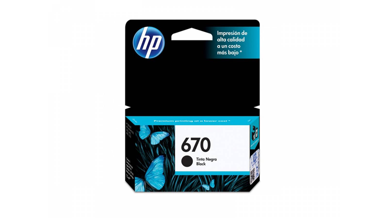 CARTUCHO ORIGINAL HP 670 NEGRO