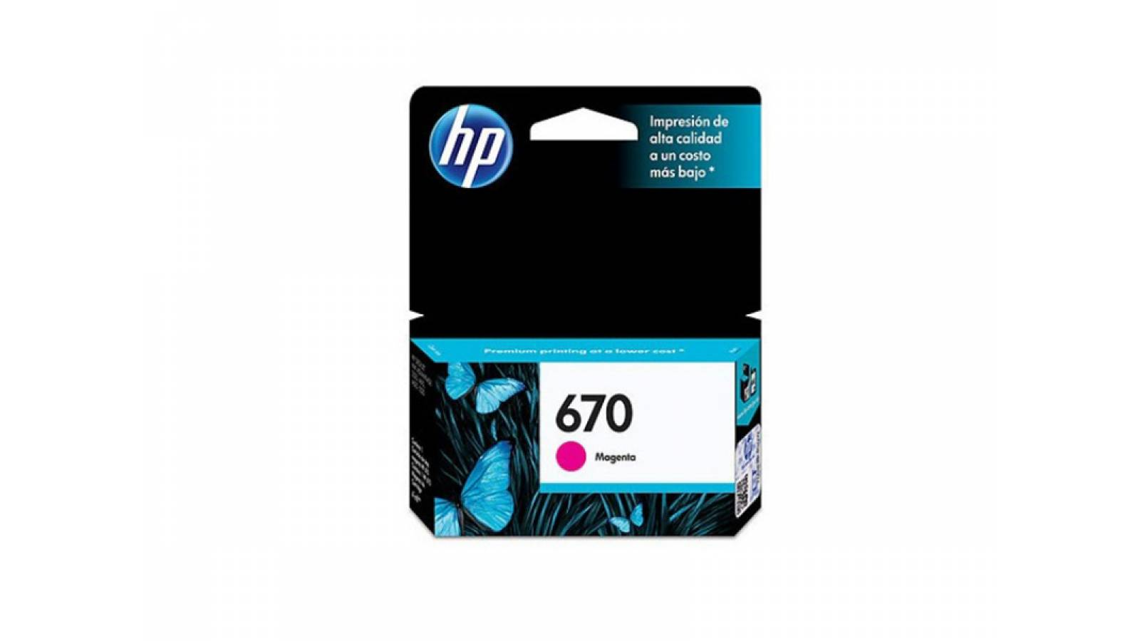 CARTUCHO ORIGINAL HP 670 MAGENTA