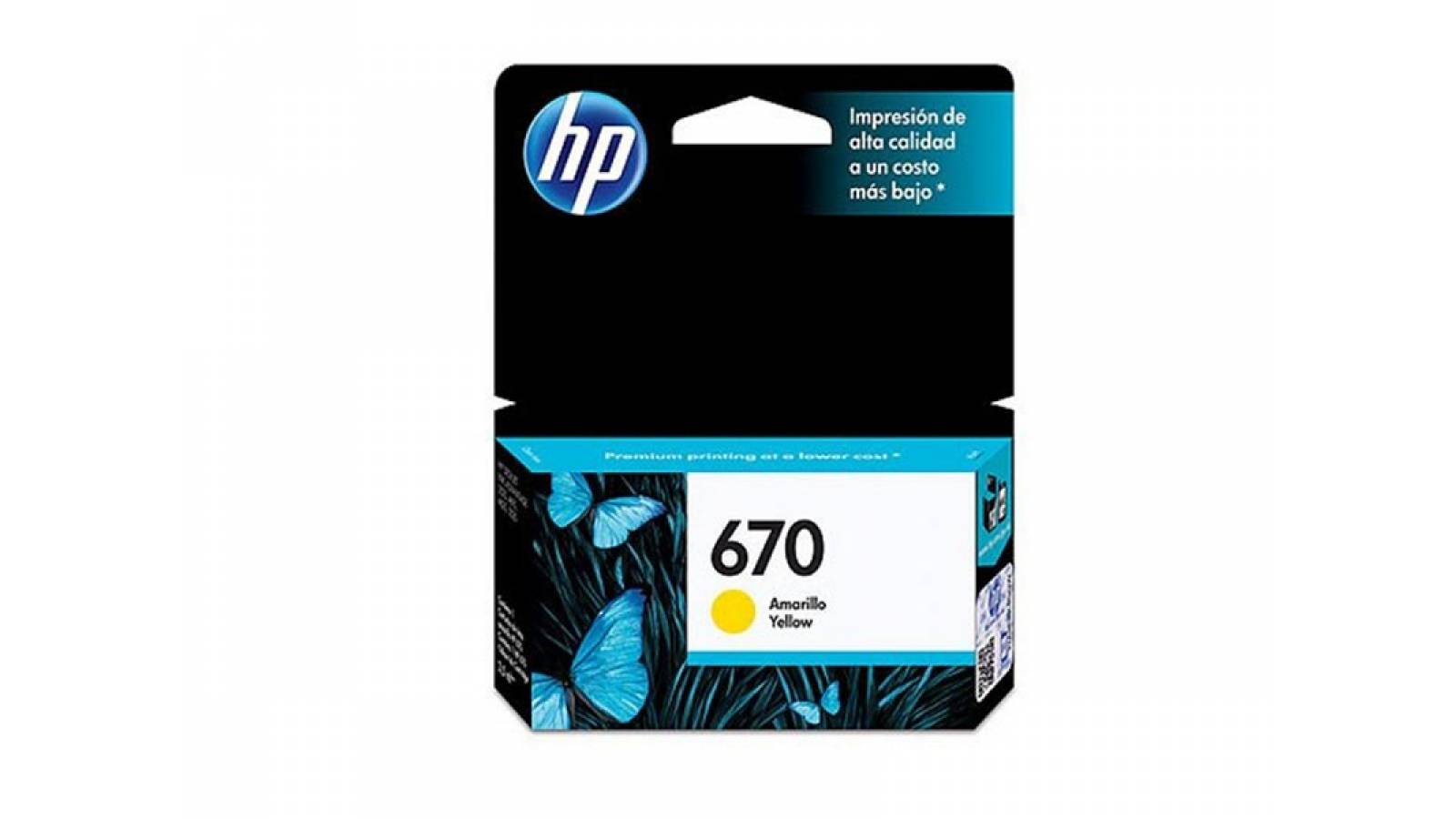 CARTUCHO ORIGINAL HP 670 YELLOW