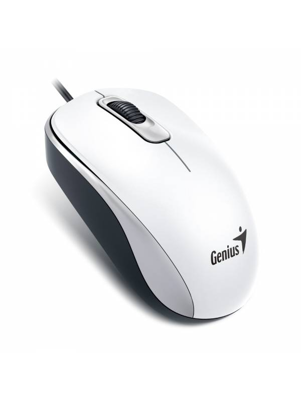 Mouse Óptico Genius Dx-110 En Blanco