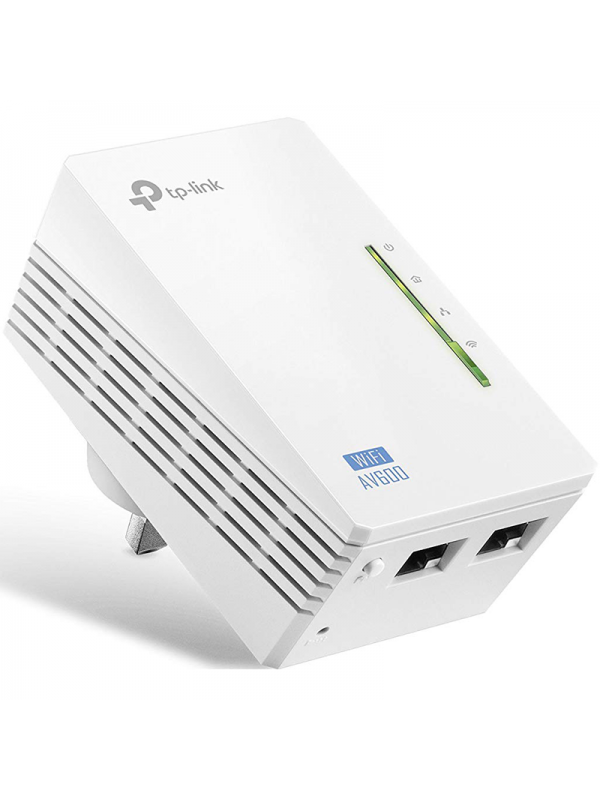 Powerline Exterior TpLink Wn Tl-wpa4220 Wifi Redes Puertos Ethernet 10100Mbps