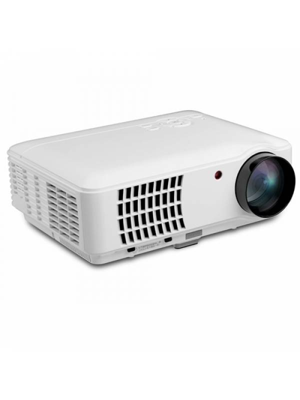 Proyector Rigal 2500 Lumenes 1080p Hdmi Usb Led