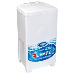 Lavarropas James Top 076A Capacidad 5.5Kg 7 Programas