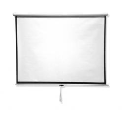 Pantalla Para Proyector Blanco Mate 120Pulg Retráctil