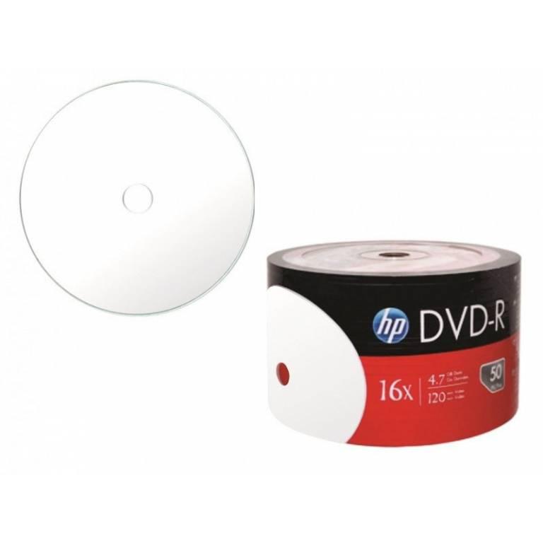 Dvd-R Hp 16x Printable x50 Unidades