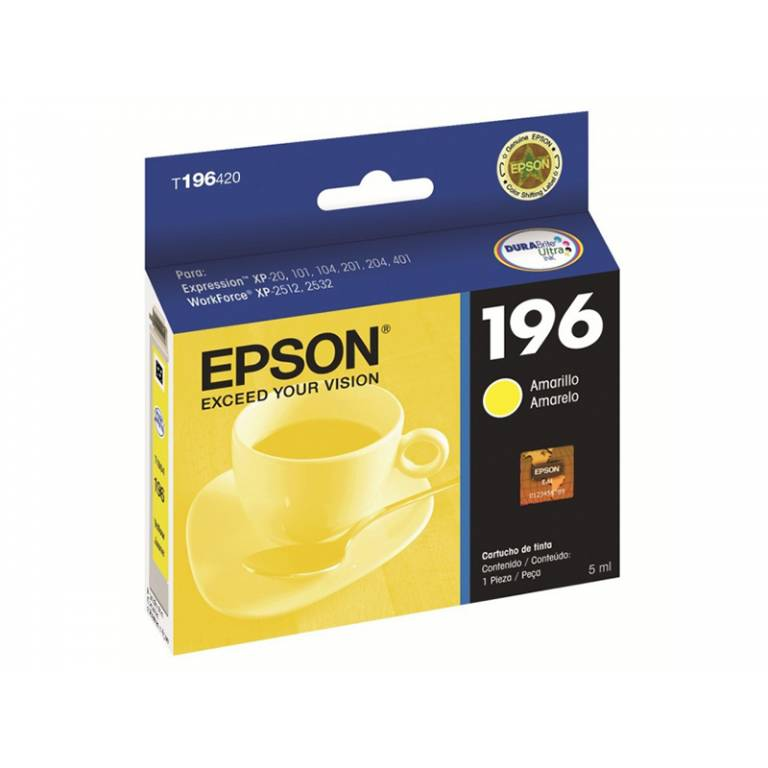 Cartucho Original Epson T1964 Yellow