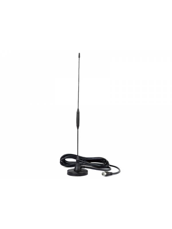 Antena Televisión Digital Isdb-T Punktal Base Magnética