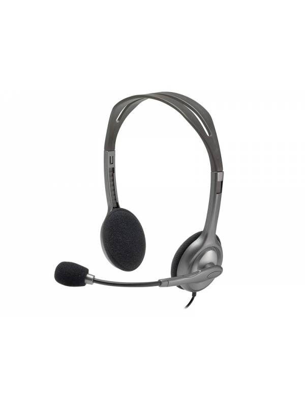 Auriculares Logitech Headset Microfono H111 Stereo