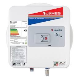 Calefon James Prisma 20 Lts Salida Inferior Tanque de Acero