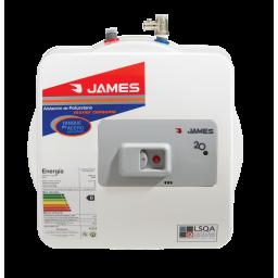 Calefon James Prisma 20 Lts Salida Superior Tanque de Acero