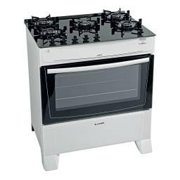 Cocina a Supergás James C695V 5 Hornallas Blanco