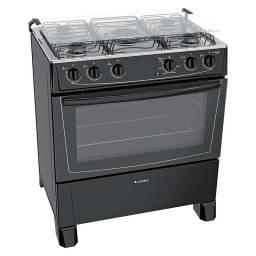 Cocina James C 150 B 5 Hornallas E.Electrónico Negra