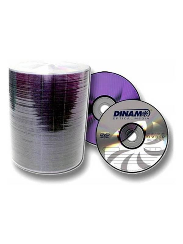 DVD-R 16X Dinam 120min bulk X 100 unidades