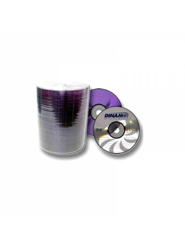 DVD+R 16X Dinam 120 min Bulk X 100 Unidades