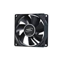 Fan Cooler Deepcool XFan 80 12VDC Molex 80mm negro