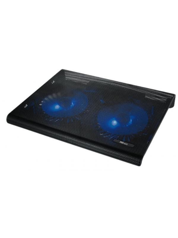 Fan Cooler Trust 20104 Laptop 17.3 Azul 2 Ventiladores