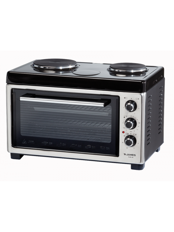 Horno Electrico James C/2 Discos electricos 39 lts,