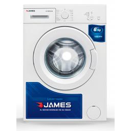 Lavarropas James LR 1006 G3 6kg Frontal 15 Programas