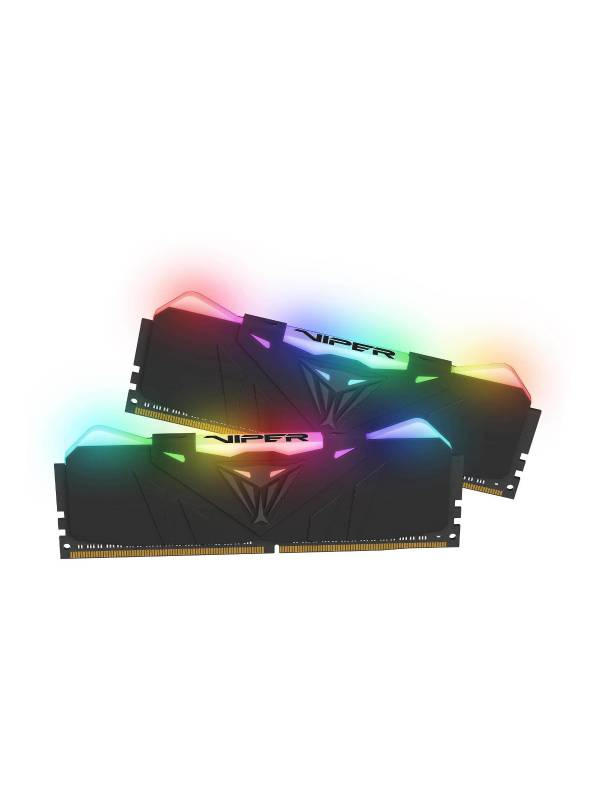 Memorias Ram Patriot Viper Rgb Ddr4 16gb (2x 8gb) 4133Mhz Gamer Potente