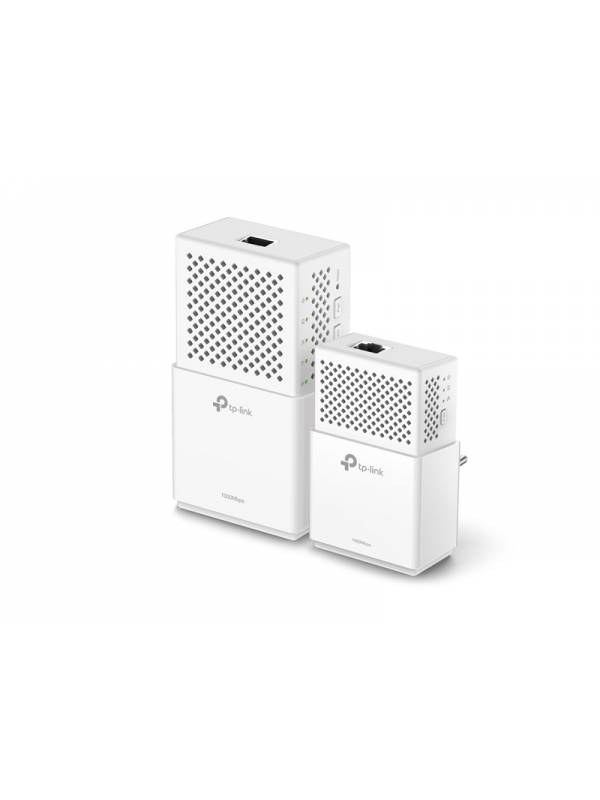 Adaptadores en Kit Tp Link Powerline Gigabit AV1000 Wi Fi