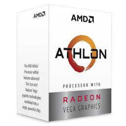 Procesador Amd Athlon 3000g Am4 Box 3.5GHz 2 Nucleos