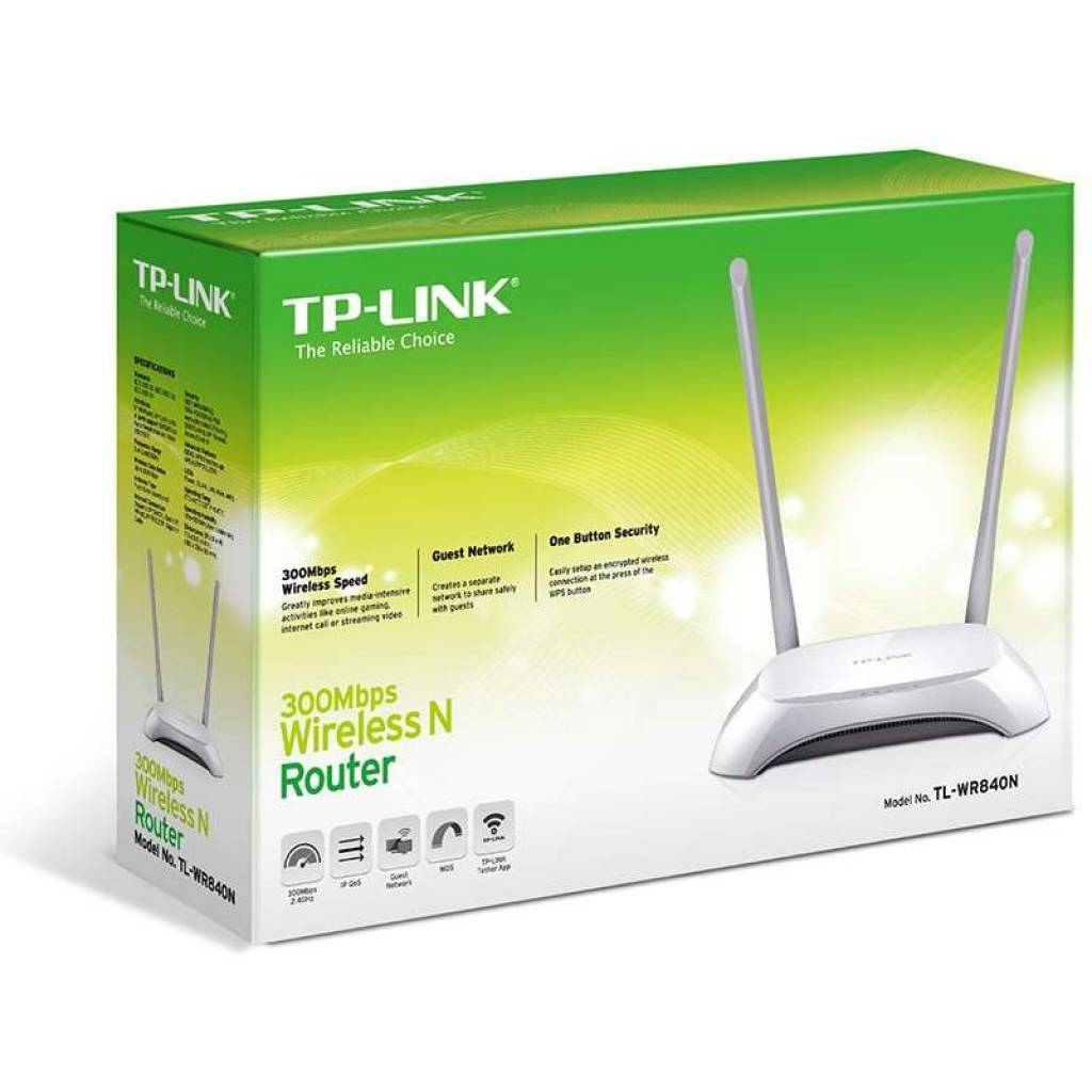 Router Tp-Link Wireless N 300 Mbps WDS VOIP TL-WR840N NNET