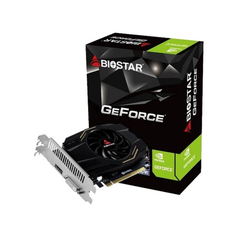 Tarjeta de Video Biostar GeForce GT 1030 4GB HDMI y DVI