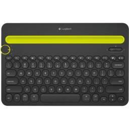 Teclado Logitech K480 Inalámbrico Bluetooth Negro