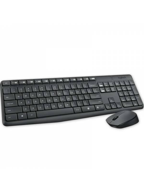 Combo inalámbrico Teclado Mouse Logitech MK235