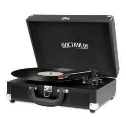 Tocadiscos Victrola discos de vinilo 3 velocidades portátil