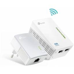 Powerline WiFi Tplink Tl-wpa4220kit Puertos Ethernet 10/100Mbps
